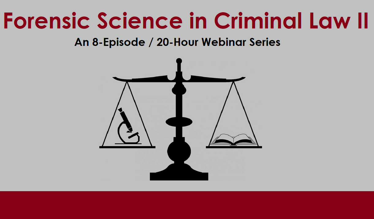 Article Forensic Science in Criminal Law II