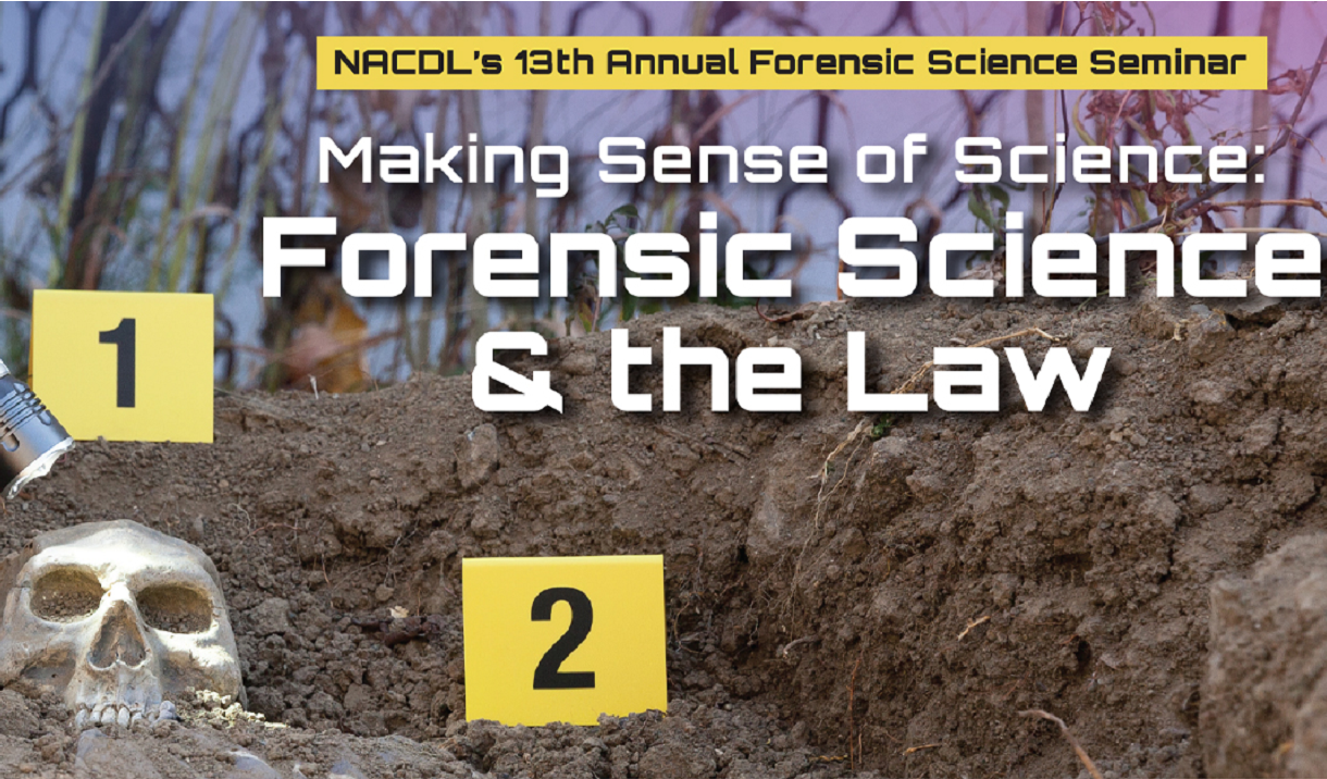 2020 Forensic Science & the Law Seminar Cover