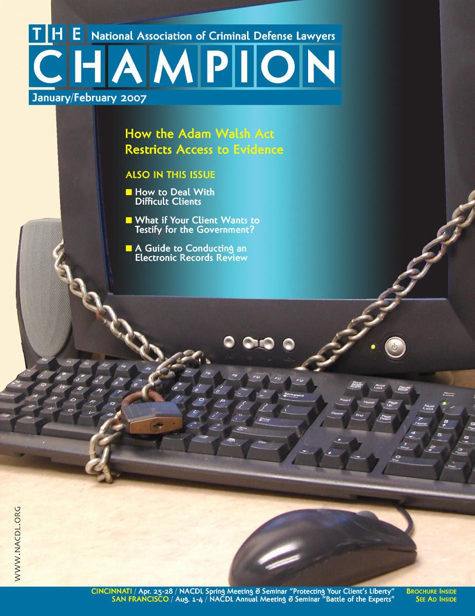 January/February 2007 Cover
