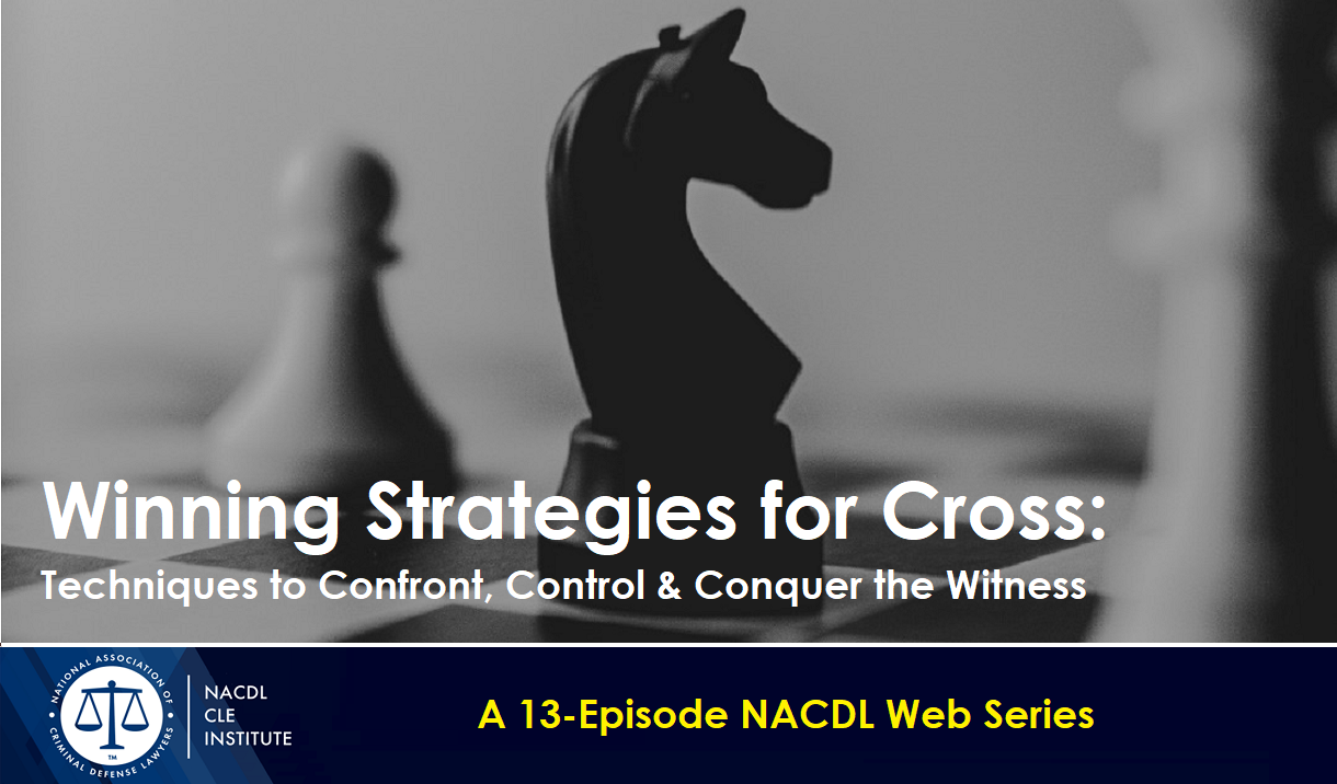 Article Winning Strategies for Cross - A 13-Episode Web Series