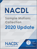 2020 Sample Motions Collection Update Cover