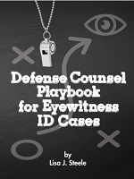 Defense Counsel Playbook for Eyewitness ID Cases Cover